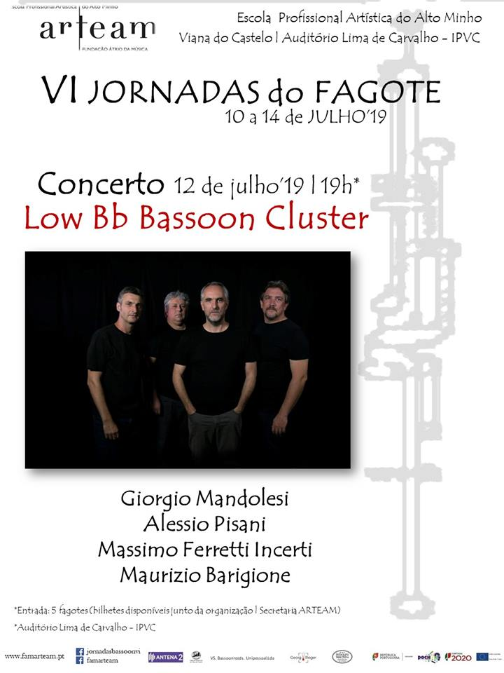 Low Bb Bassoon Cluster em Viana do Castelo